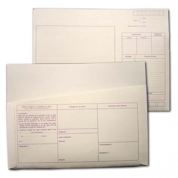Enveloppes courriers