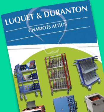 Catalogue Luquet et Duranton : chariot d'archivage Altius Diffusion