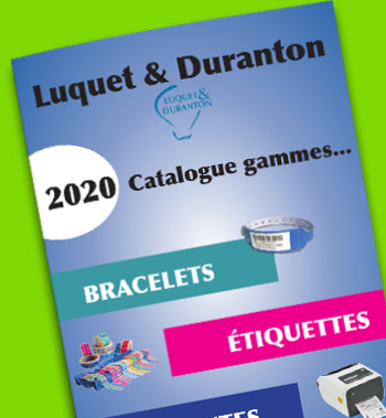 Catalogue Luquet et Duranton : imprimantes et étiquettes Zebra