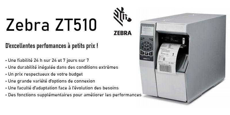 Photo imprimante Zebra ZT510