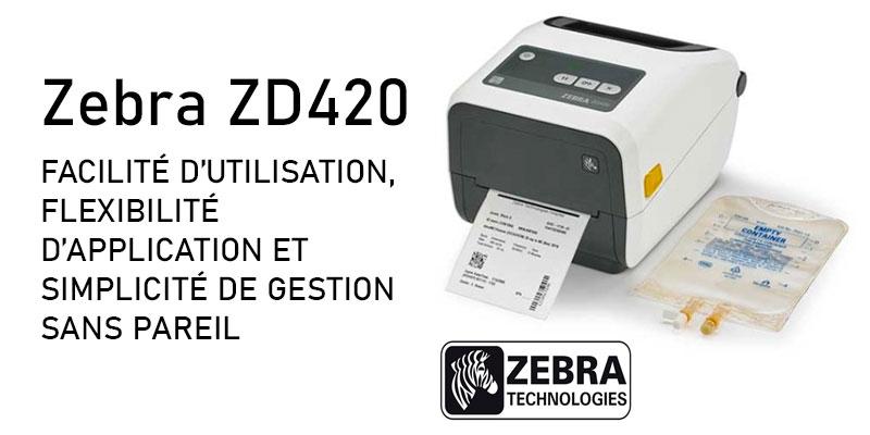 Photo imprimante Zebra ZD420-HC