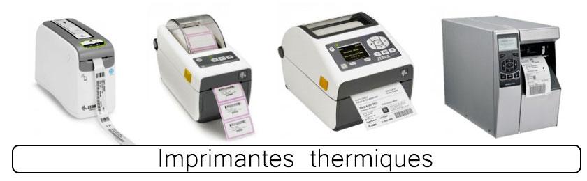 Image imprimantes thermiques pour étiquettes de laboratoires d'analyse