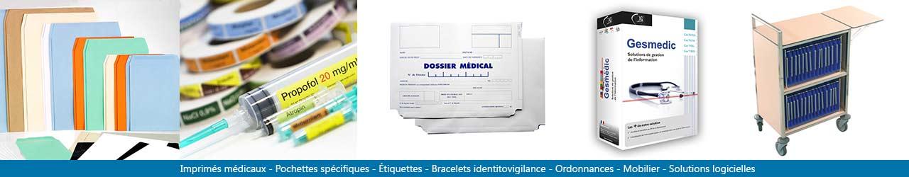 Fabricant de papeterie médical - imprimés médicaux