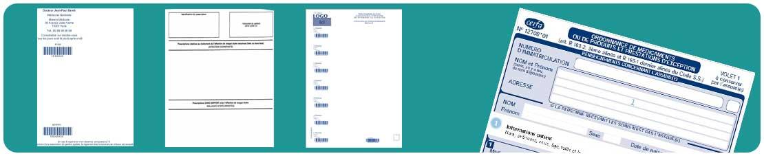 exemples de modèles d'ordonnances