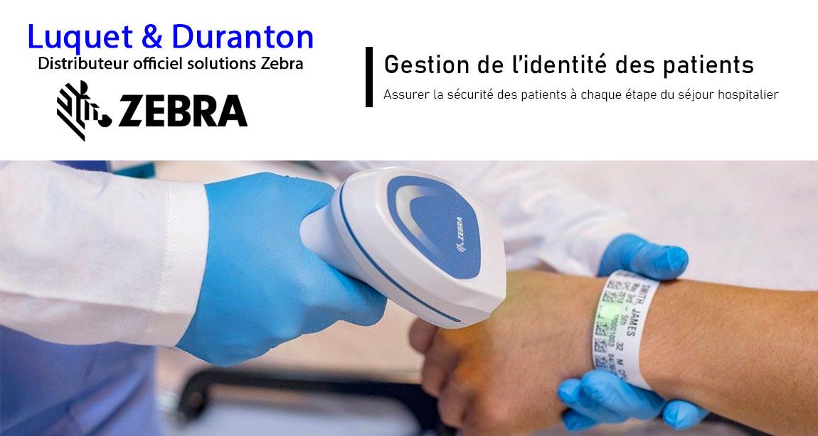 Solutions Zebra pour l'identification des patients