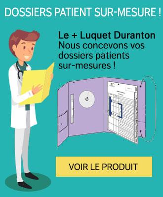 Pochettes archive médicale